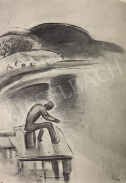 Egry József - Horgászó