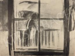 Egry József - Juliska a verandán