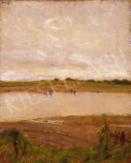 Hollósy, Simon - Riverside Landscape