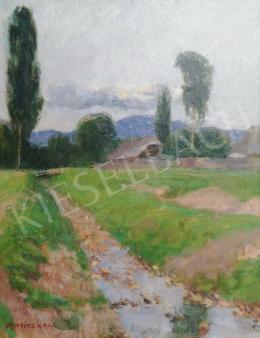 Maticska Jenő - Nagybányai patakpart