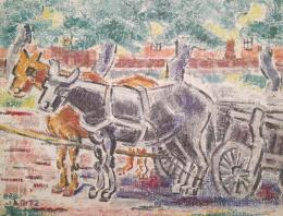 Járitz, Józsa - Horse-Drawn Carriage