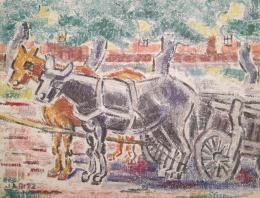 Járitz Józsa - Lovaskocsi