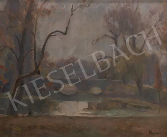 For sale Kemény, Zsigmond - City Park in Autumn 's painting