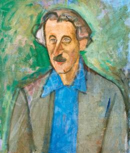 Czigány Dezső - Kék inges férfi