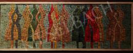 Hegyi György - Mozaik kép alakokkal