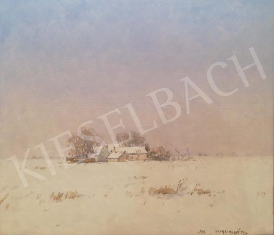 Eladó Halasi Horváth István - Puszta télen festménye