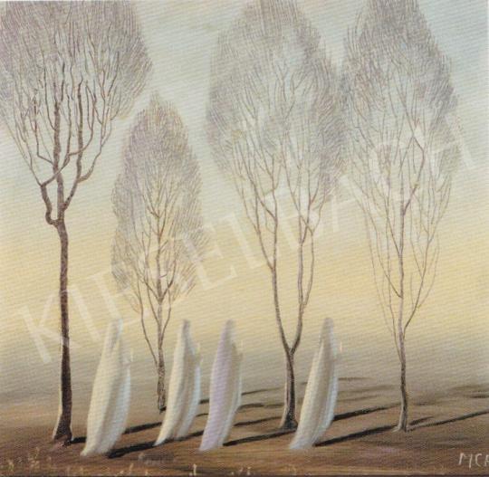 Molnár C. Pál - Dal a tavaszról festménye