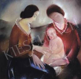Molnár C. Pál - Két nő gyermekkel