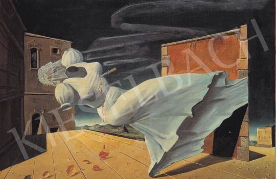 Molnár C. Pál - Allegória festménye