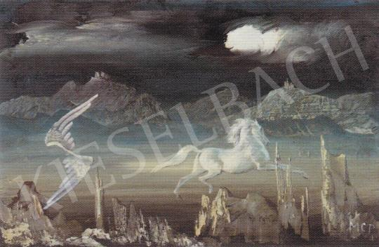 Molnár C. Pál - Pegazus Felemelkedése festménye