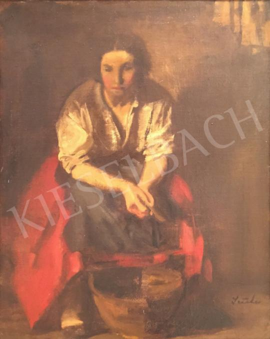 For sale Szüle, Péter - Portrait of a Woman 's painting