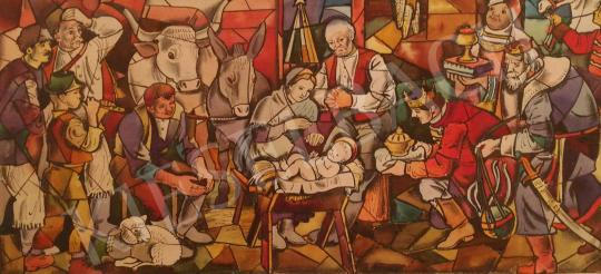For sale Pituk, József - The Birth of Jesus Christ 's painting