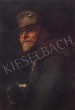 Benczúr, Gyula - Stróbl Lieutenant, 1915
