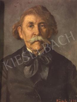 Kunffy Lajos - Roboz István arcképe, 1894