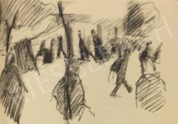 Bernáth Aurél - Utcakép, 1913