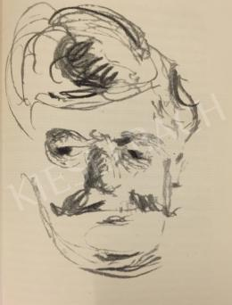 Bernáth, Aurél - Portrait of Goldner, 1914