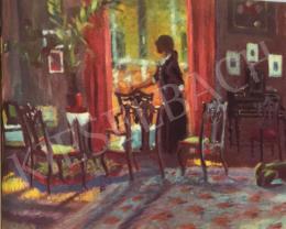 Bernáth Aurél - Fleinerék szalonja, 1914