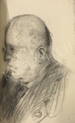 Bernáth, Aurél - Portrait of Uncle Ödön, 1915