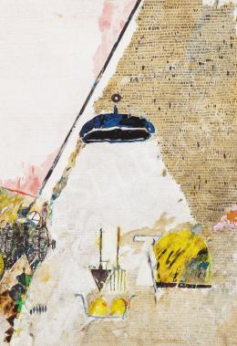 Bukta, Imre - Tractor in the Border, 1983