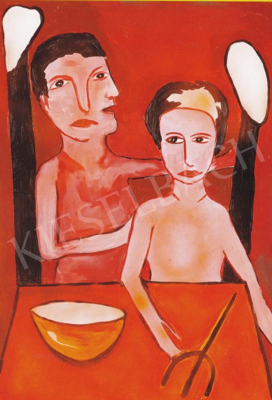 feLugossy László - Amikor nincs mit (t)enni, 2006 festménye
