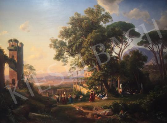 1821 Hummel, Carl - Vidéki mulatság festménye