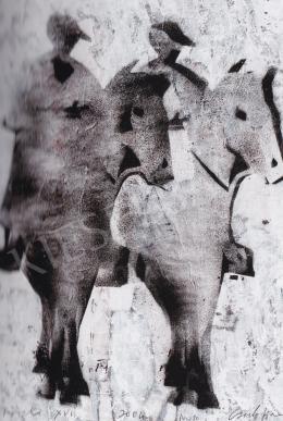 Csorba Simon - Fríz lovas, 2004