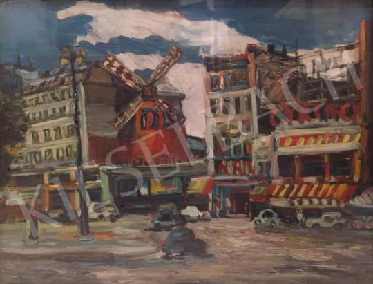 Eladó Schéner Mihály - Moulin Rouge festménye