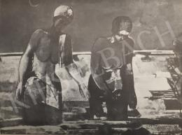 Bér Rudolf - Fürdőző nők