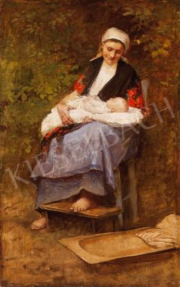 Deák Ébner, Lajos - Mother and Child
