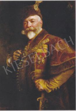 Benczúr, Gyula - Elegant Self-portrait, 1914