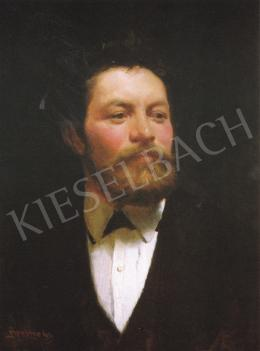 Benczúr, Gyula - Self-Portrait, 1873
