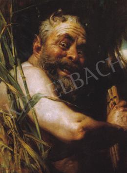 Benczúr, Gyula - Faun-Self-Portrait, 1903