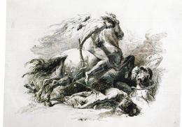 Benczúr, Gyula - Gallop Horseman, 1888