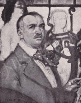 Csók István - Önarckép
