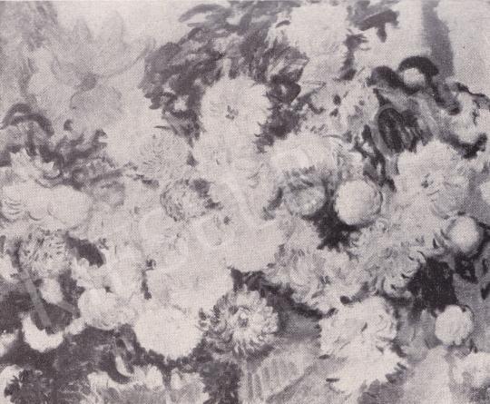 Csók István - Virágcsendélet festménye