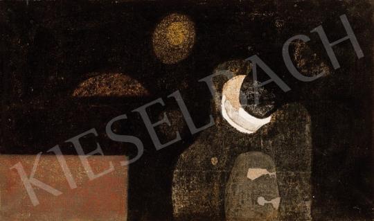 Bálint Endre - A földöntúli gyász színe megnevezhetetlen | 18. Aukció aukció / 198 tétel