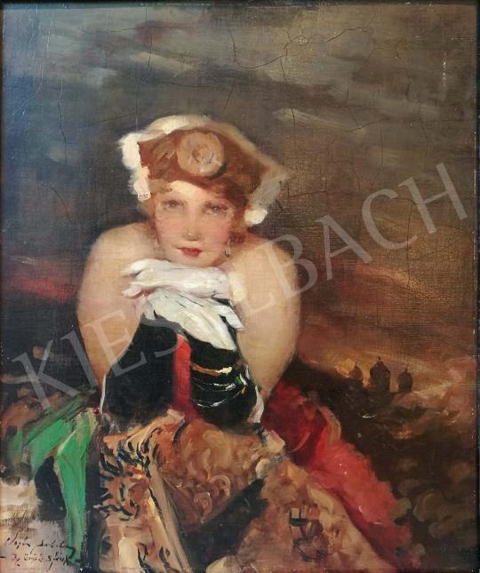 Eladó  Vígh Bertalan - Az örök szfinx festménye