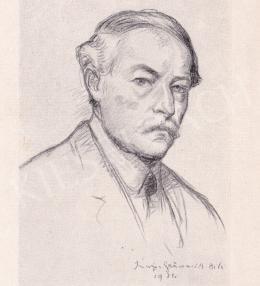 Iványi Grünwald Béla - Önarckép, 1921
