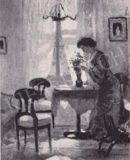 Iványi Grünwald Béla - Ablaknál