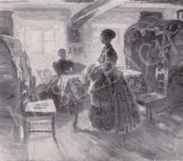 Iványi Grünwald Béla - Parasztszoba