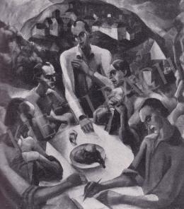 Derkovits Gyula - Utolsó vacsora, 1922