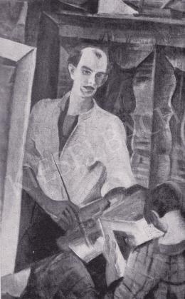 Derkovits Gyula - Önarckép, 1927