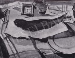 Derkovits Gyula - Halas csendélet, 1929