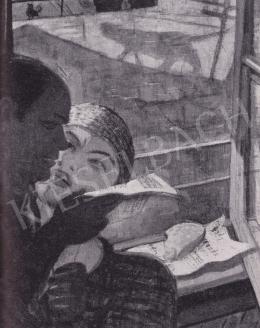 Derkovits Gyula - Önarckép, 1930