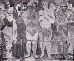 Derkovits Gyula - Artisták, 1933