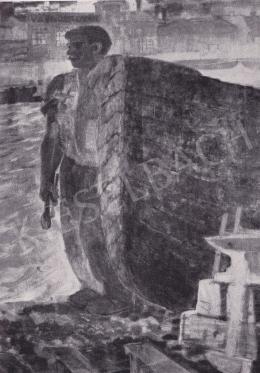 Derkovits Gyula - Hajókovács, 1934