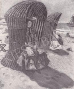 Perlmutter Izsák - Tengerparton