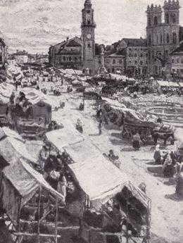 Perlmutter Izsák - Vásár Besztercebányán