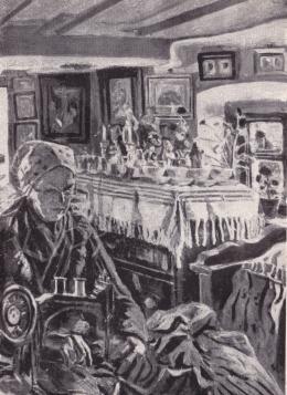 Perlmutter Izsák - Öreg parasztasszony