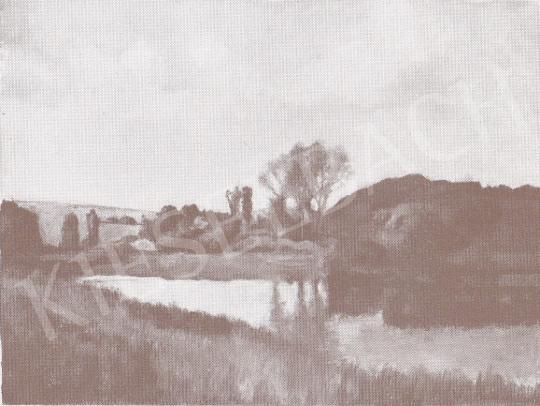 Bánovszky Miklós - Nógrádi táj, 1968 festménye